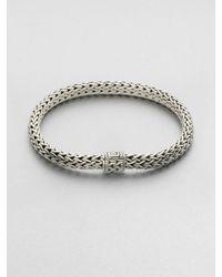 John Hardy | Metallic Medium Oval Chain Bracelet for Men | Lyst