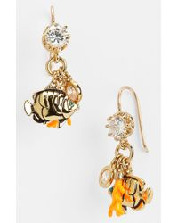 Juicy Couture | Multicolor Beach Bling Charm Earrings | Lyst