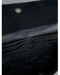 Neil Barrett | Black Leather Clutch | Lyst