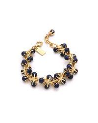 Tuleste - Blue Small Claw Bracelet - Lyst