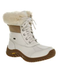 UGG | Adirondack Boot Ii White | Lyst