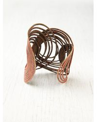 Free People - Brown Fork Canyon Cuff - Lyst