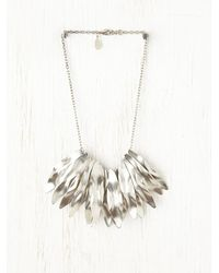 Free People - Metallic Joplin Necklace - Lyst