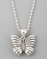 Lagos | Metallic Rare Wonders Butterfly Pendant Necklace | Lyst