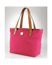 Lauren by Ralph Lauren - Pink Classic Tote - Lyst
