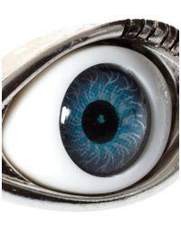 ASOS | Blue Asos Eye Skinny Bangle | Lyst