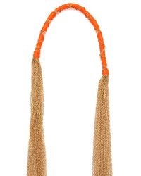 Chan Luu - Metallic Antique Gold Chain Necklace - Lyst