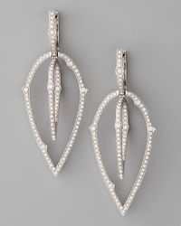 Stephen Webster | 3d White Diamond Earrings | Lyst