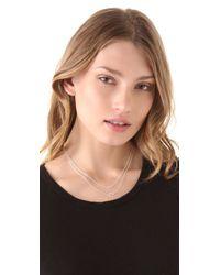 Gorjana - Metallic Double Rope Necklace - Lyst