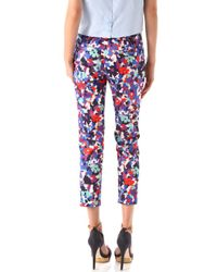 Tory Burch - Multicolor Tribley Pants - Lyst