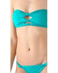 Seventh Wonderland - Blue Amadora Knot Bikini - Lyst