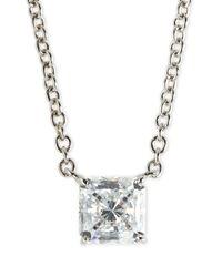 Fantasia by Deserio Metallic Cz Pendant Necklace