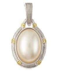 Judith Ripka - White Mabe Pearl Enhancer - Lyst