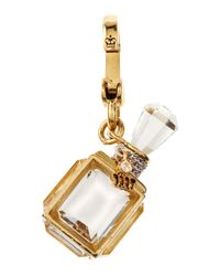 Juicy Couture - Metallic Fragrance Bottle Charm - Lyst