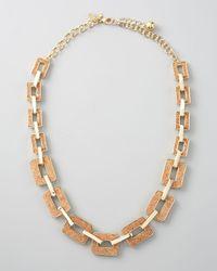 Kate Spade | Metallic Cork City Graduated Necklace | Lyst