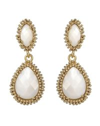 Kendra Scott | Metallic Motherofpearl Drop Earrings | Lyst