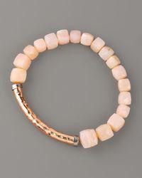 Tai | Pink Opal Bracelet | Lyst