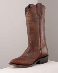 Frye - Brown Billie Western Boot - Lyst