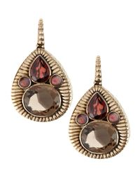 Stephen Dweck - Brown Teardrop Cluster Earrings - Lyst