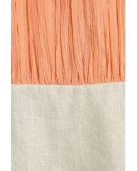 By Malene Birger | Natural Julinka Silk and Linen Shift Dress | Lyst
