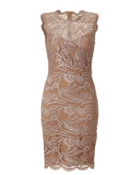 Emilio Pucci | Pink Pearl Lace Dress | Lyst