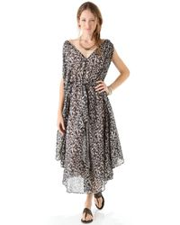 Zimmermann - Gray Devoted Butterfly Dress - Lyst