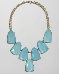 Kendra Scott - Blue Harlow Necklace Turquoise - Lyst