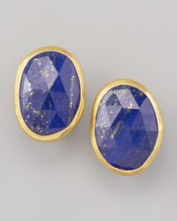 Gurhan | Blue Lapis Stud Earrings | Lyst