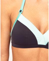 Freya - Gray Freya Samba Df Soft Triangle Bikini Top - Lyst