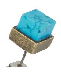 Kelly Wearstler - Blue Turquoise Stud Earrings - Lyst