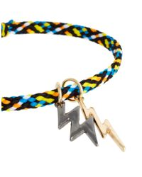 ASOS - Multicolor Friendship Adjustable Lightning Charm Bracelet - Lyst