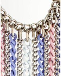 ASOS - Metallic Multi Chain Ear Cuff - Lyst