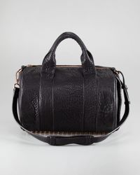 Alexander Wang   Brown Rocco Leather Satchel   Lyst