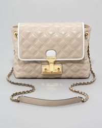 Marc Jacobs | Natural The Single Baroque Twotone Quilted Bag Large | Lyst