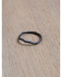 Damir Doma | Metallic Damir Doma Womens Aque Silver Branch Ring | Lyst