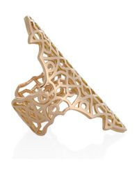 Repossi | Metallic Maure 18karat Rose Gold Ring | Lyst
