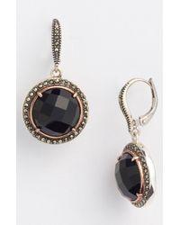 Judith Jack | Metallic Rock Candy Drop Earrings | Lyst