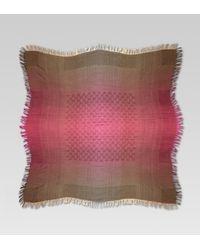 Gucci | Purple Gg Pattern Shawl | Lyst