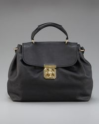 Chloé - Black Elsie Shoulder Bag Medium - Lyst
