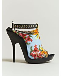 Givenchy - Multicolor Womens Printed Open Toe Stilettos - Lyst