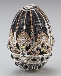 Judith Leiber | Metallic Russian Egg Crystal Clutch | Lyst