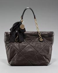 Lanvin | Black Ketu Shoulder Bag | Lyst