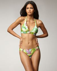 Nanette Lepore | Multicolor Central Park Heart Breaker Bikini Bottom | Lyst