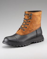 Prada - Black Duck Boot for Men - Lyst