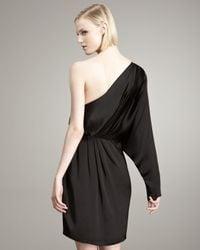 Stella McCartney - Black One-shoulder Dress - Lyst