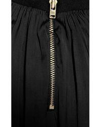 A.L.C. - Black Meloni Silk Dress - Lyst