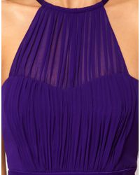 Coast | Purple Coast Halter Maxi Dress | Lyst