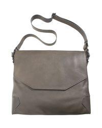 Lanvin - Gray Sartorial Messenger Bag for Men - Lyst