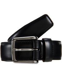 Tod's - Black Vitello Dress Belt for Men - Lyst
