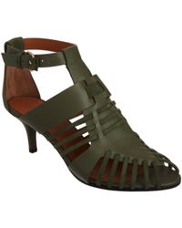 Givenchy | Green Gladiator Sandal | Lyst